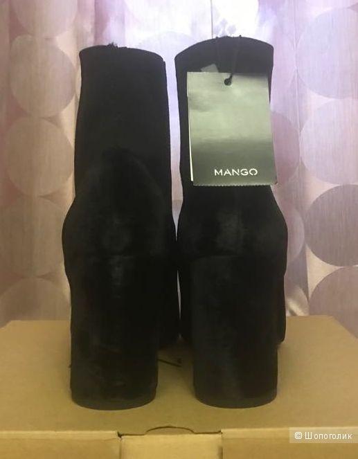 Женские ботильоны Mango (LAILA). Размер 37 RU.