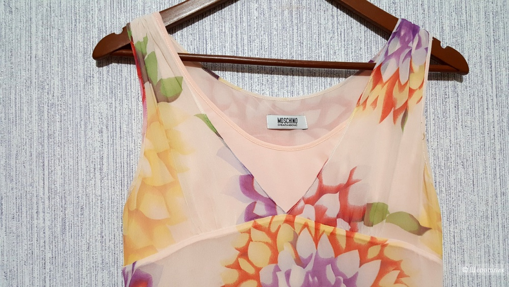 Шелковое платье Moschino cheap and chic на 42-44