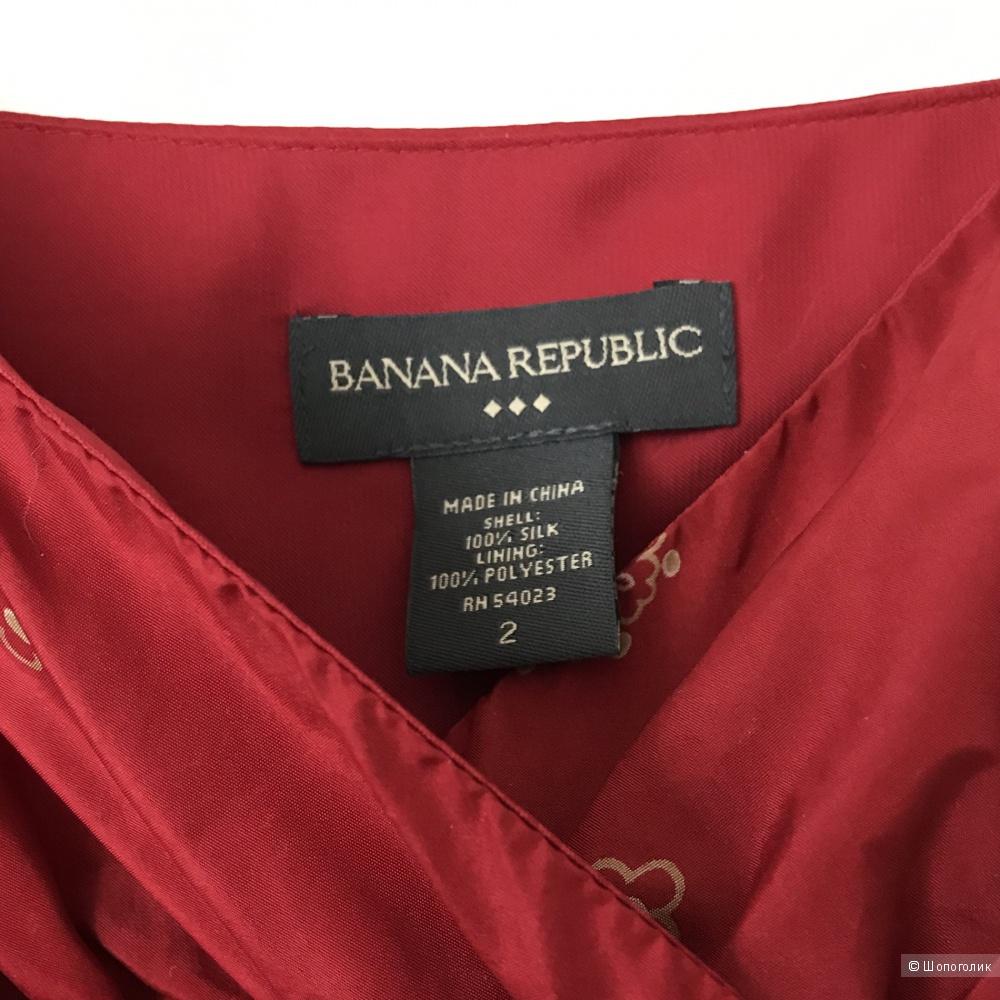 Шёлковый топ, Banana Republic, 2