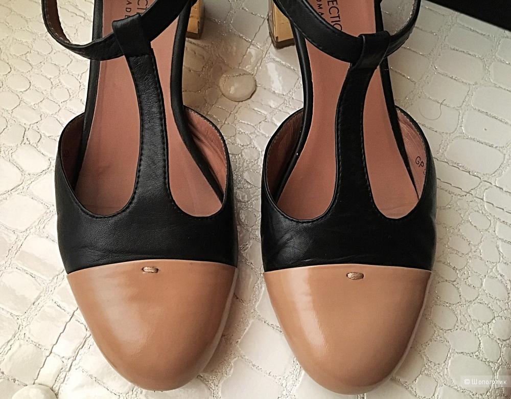 Кожаные женские туфли TJ Collection, р.39