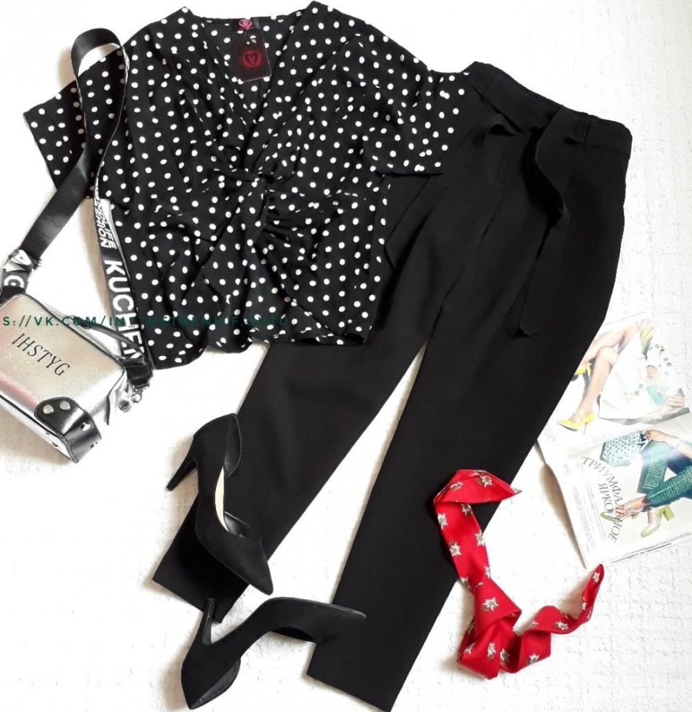 Комплект  блузка LONDON и брюки  NEW  LOOK 44-46размер