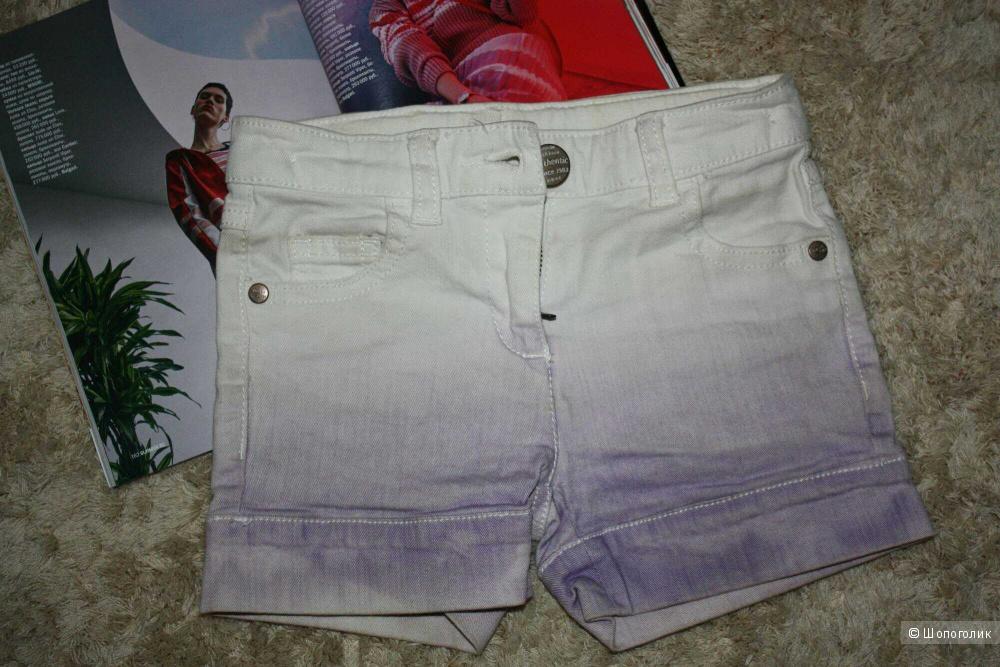 Шорты джинсовые Next, рост 98