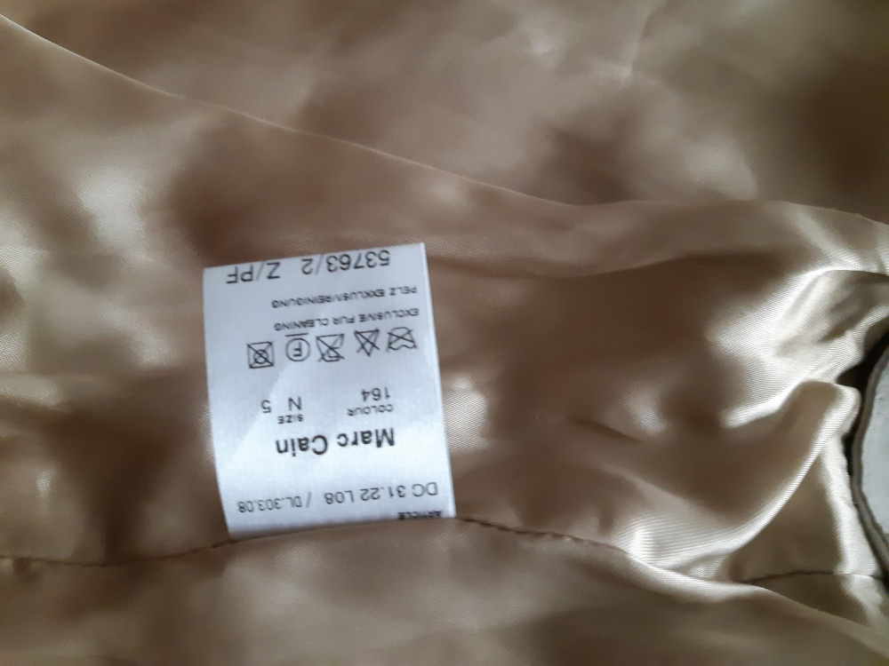 Меховая куртка (жилетка) Marccain р.48