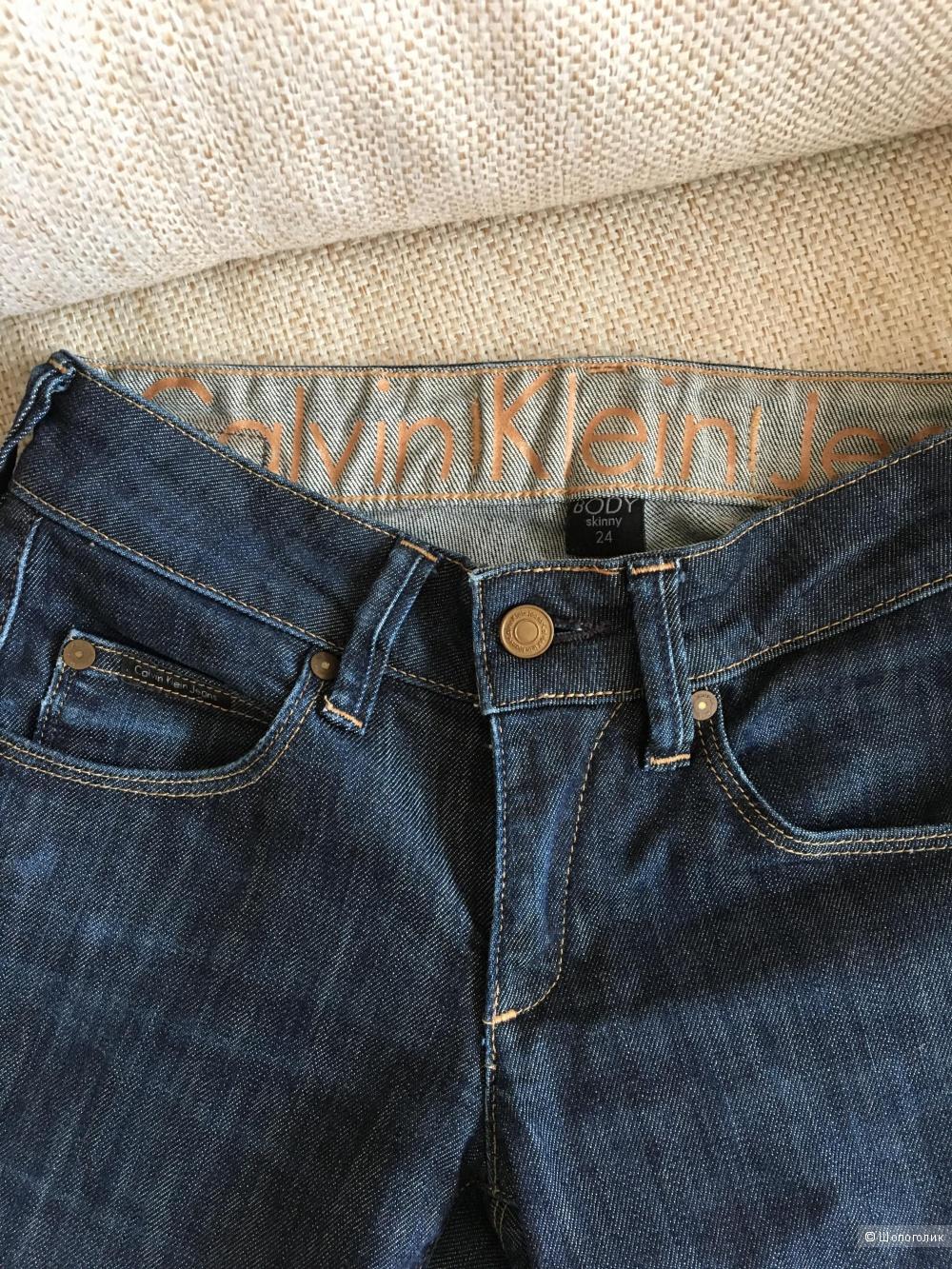 Джинсы Calvin Klein, 24 размер
