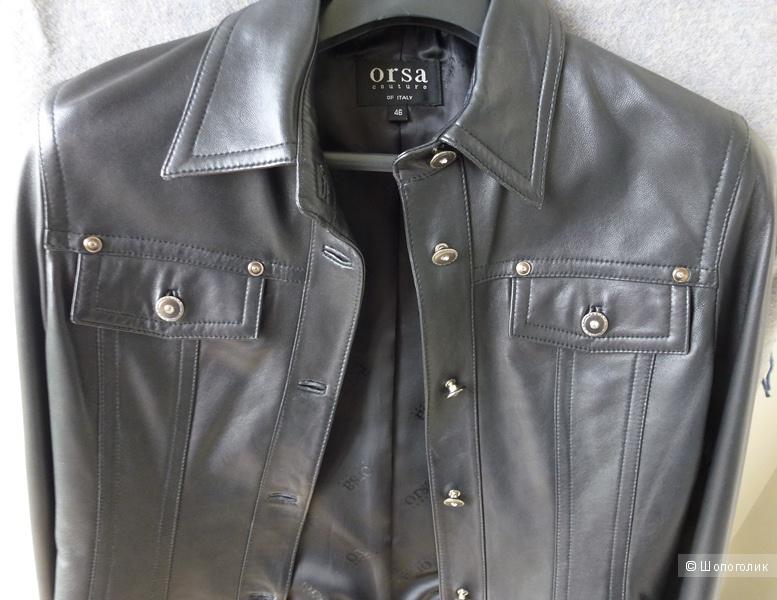Куртка кожаная ORSA размер 46