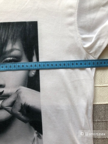 Футболка, Rihanna mustache, 44-48