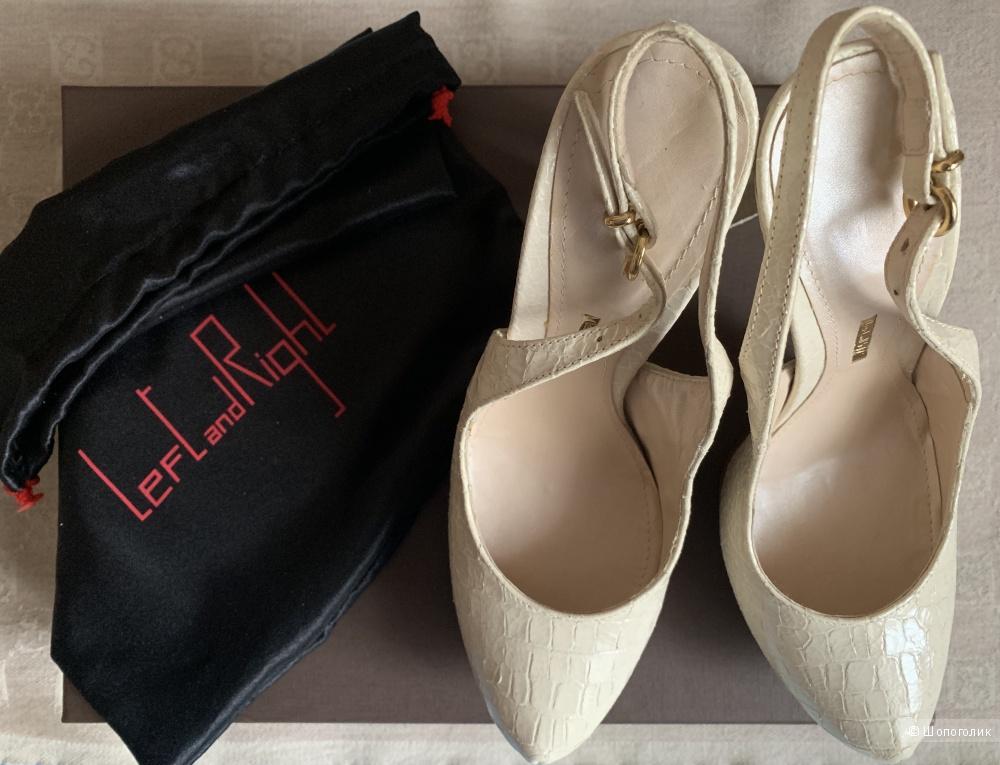 Босоножки итальянского бренда LEFT And RIGHT, размер 37