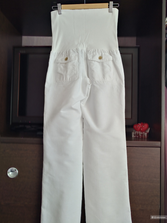 Льняные брюки MANGO, размер S