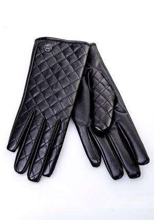 Перчатки кожаные, love republic
