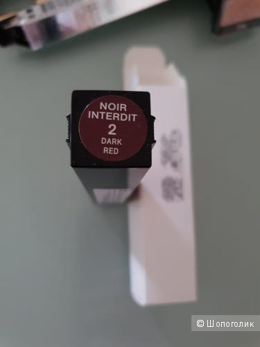 Удлиняющая тушь Givenchy Noir Interdit, 02 Dark Red.