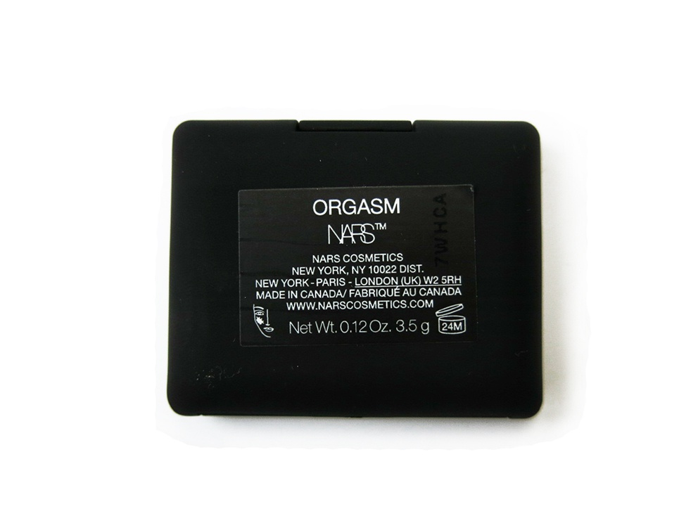 Мини румяна Nars Orgasm 3,5г