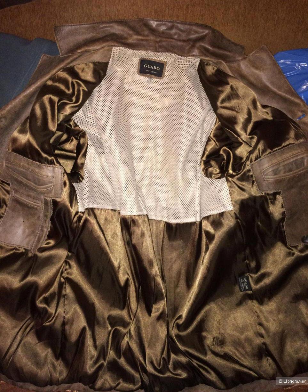 Куртка кожаная Guado exclusive размер 50