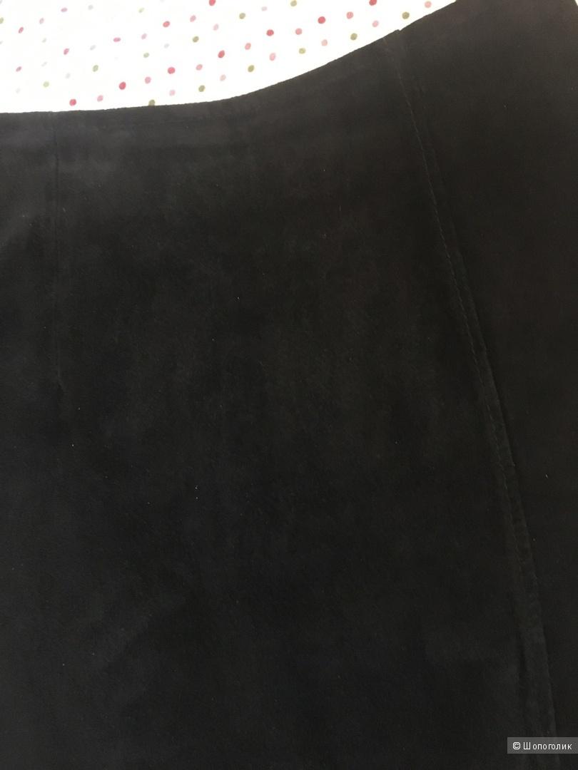 Замшевая юбка Asos XS