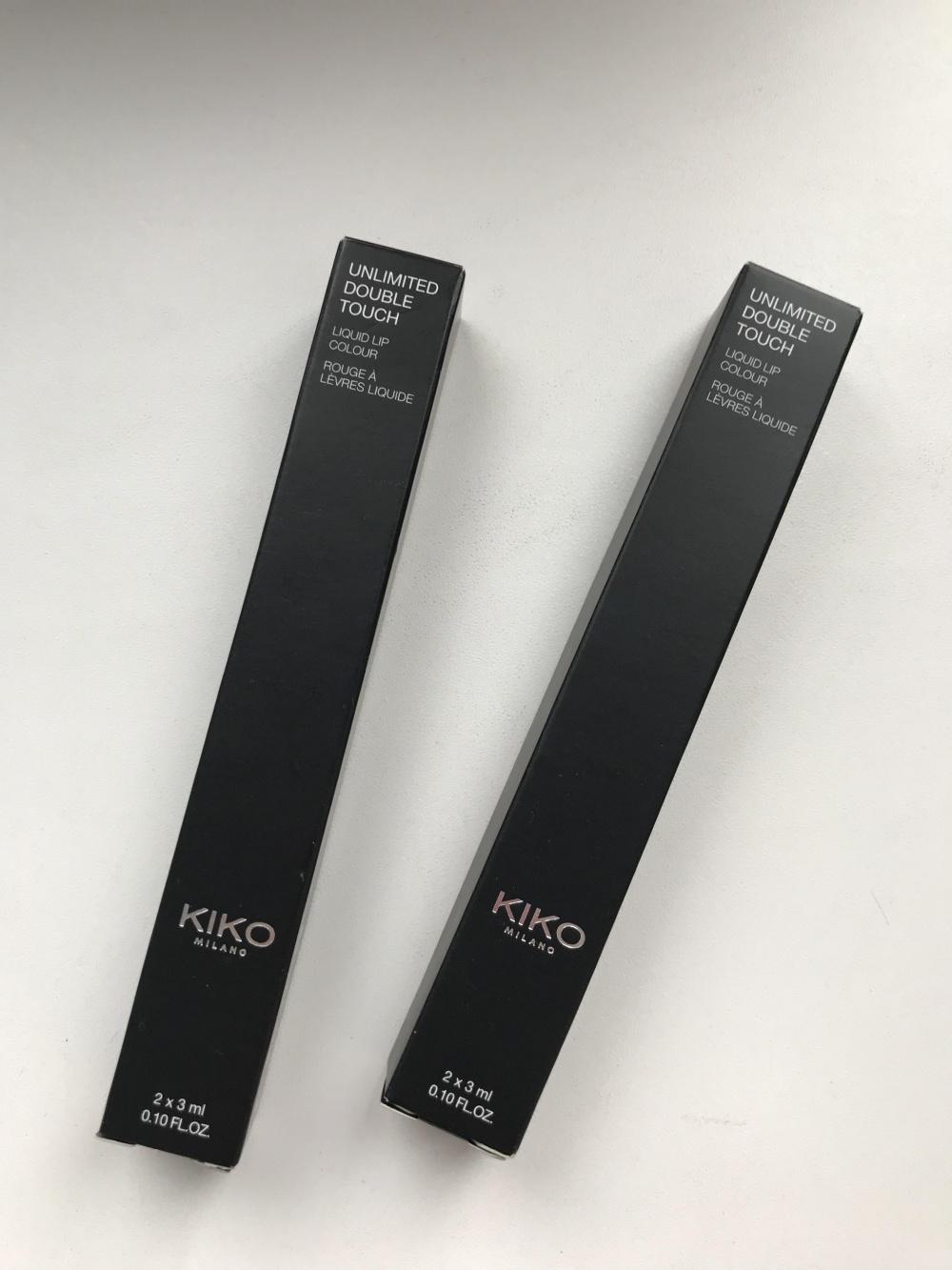 Стойкая помада Kiko Cosmetics Unlimited Double Touch
