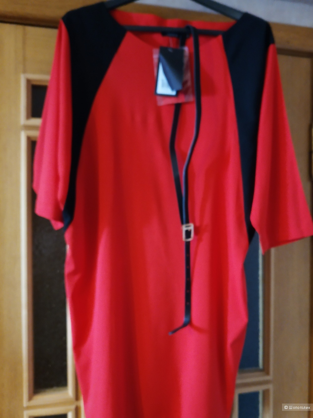 Платье Favorini размер 46 красное