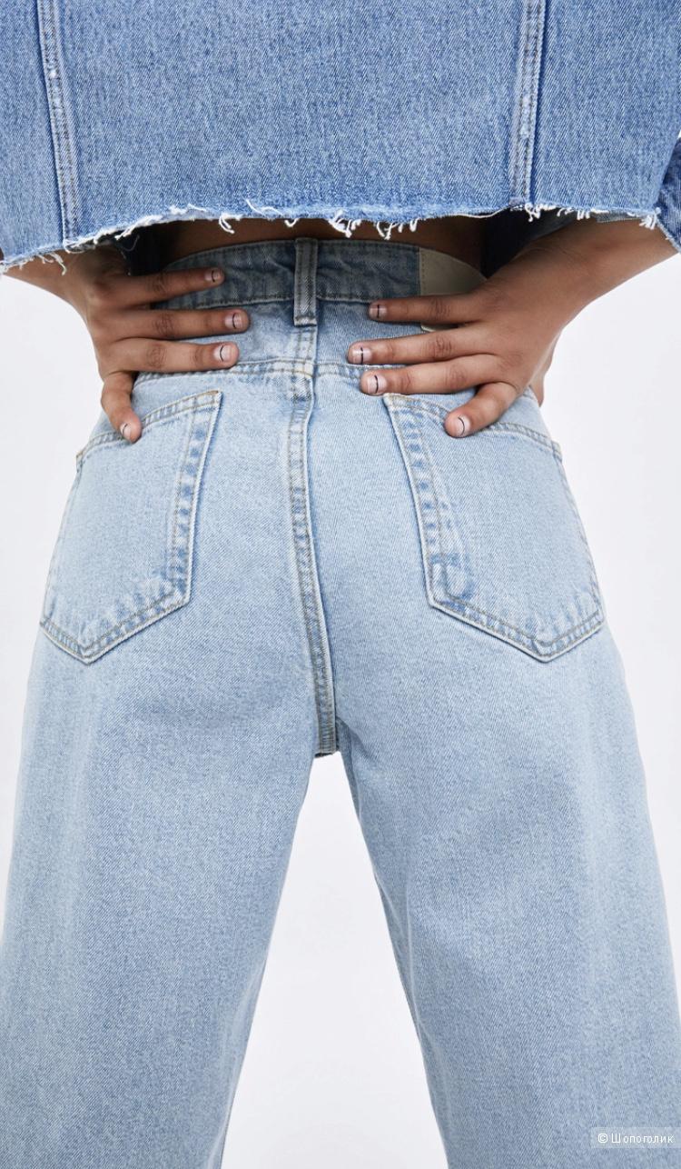Джинсы МОМ Fit  Zara, размер 36 (26)