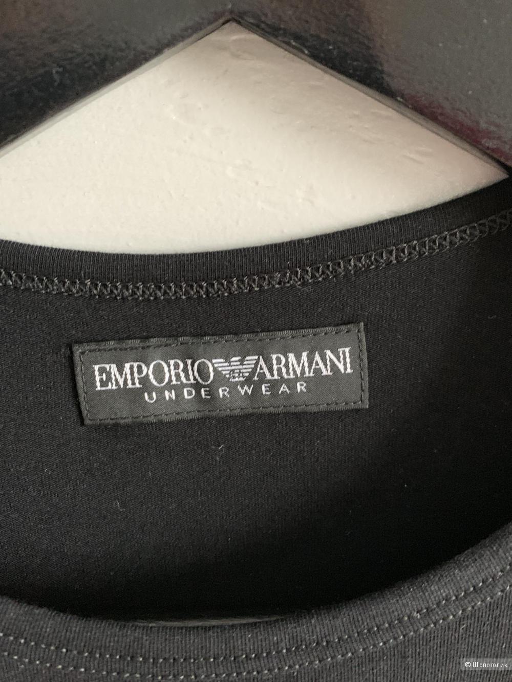 Лонгслив Emporio Armani, размер S-M