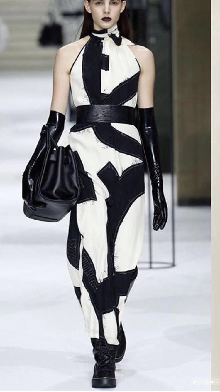 Подиумное, шелковое платье Max Mara, 42 it