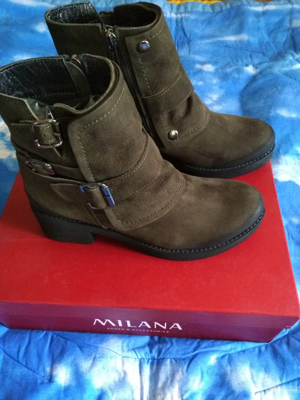 Ботинки Milana р-р 39
