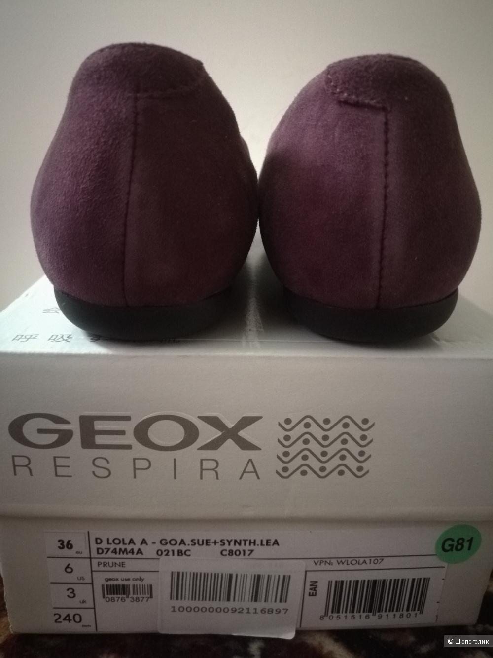 Слипперы GEOX р.36