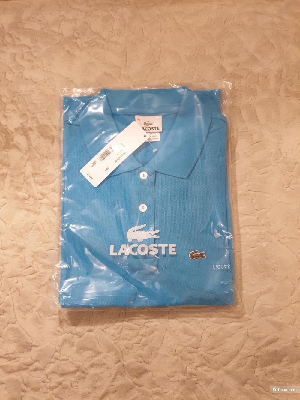 Поло фирмы Lacoste 42 размера