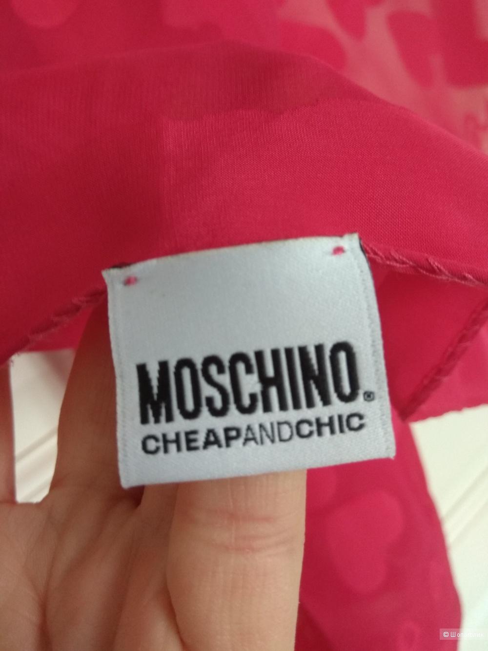 Платок палантин Moschino, one size