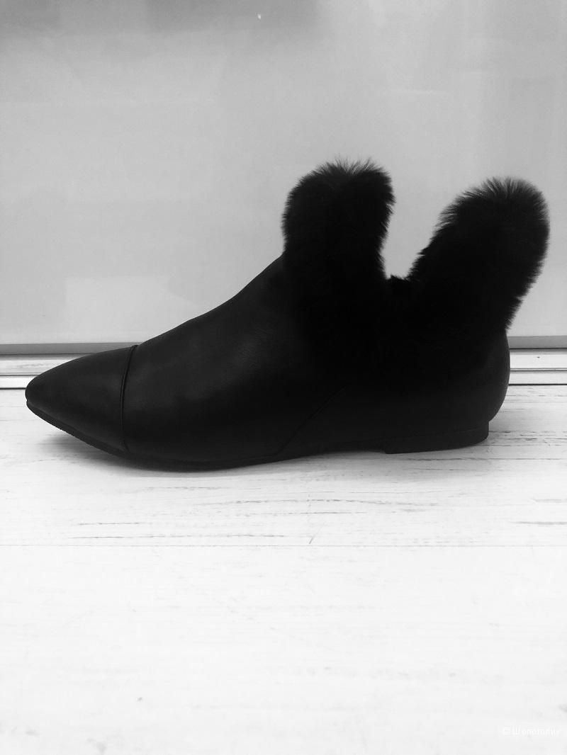 Туфли  DIOR   нат. кожа   размер 36 - 36,5