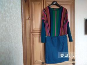 Джемпер Louise Orop M-L и юбка Haocare XXL