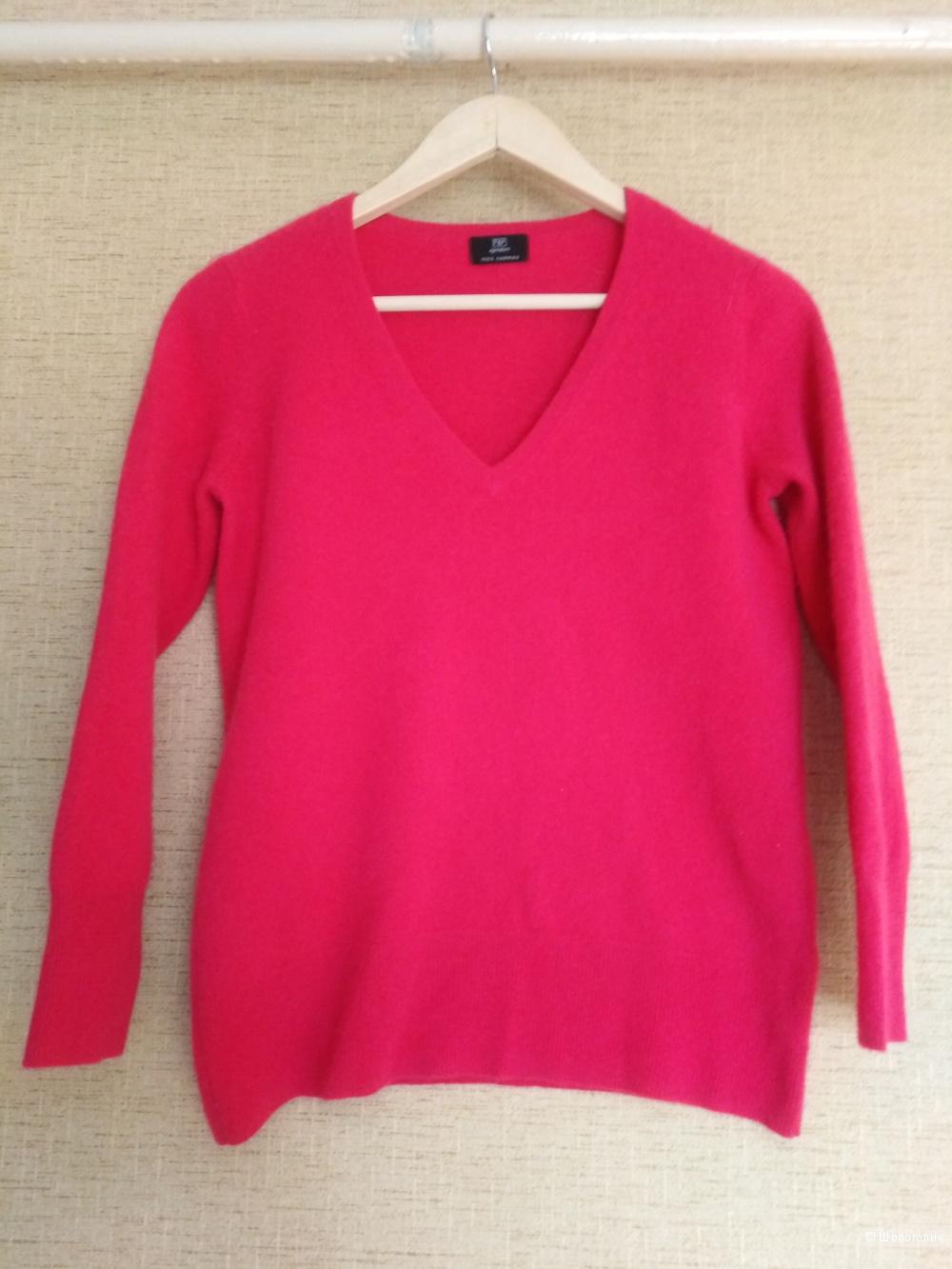 Кашемировый пуловер F&F