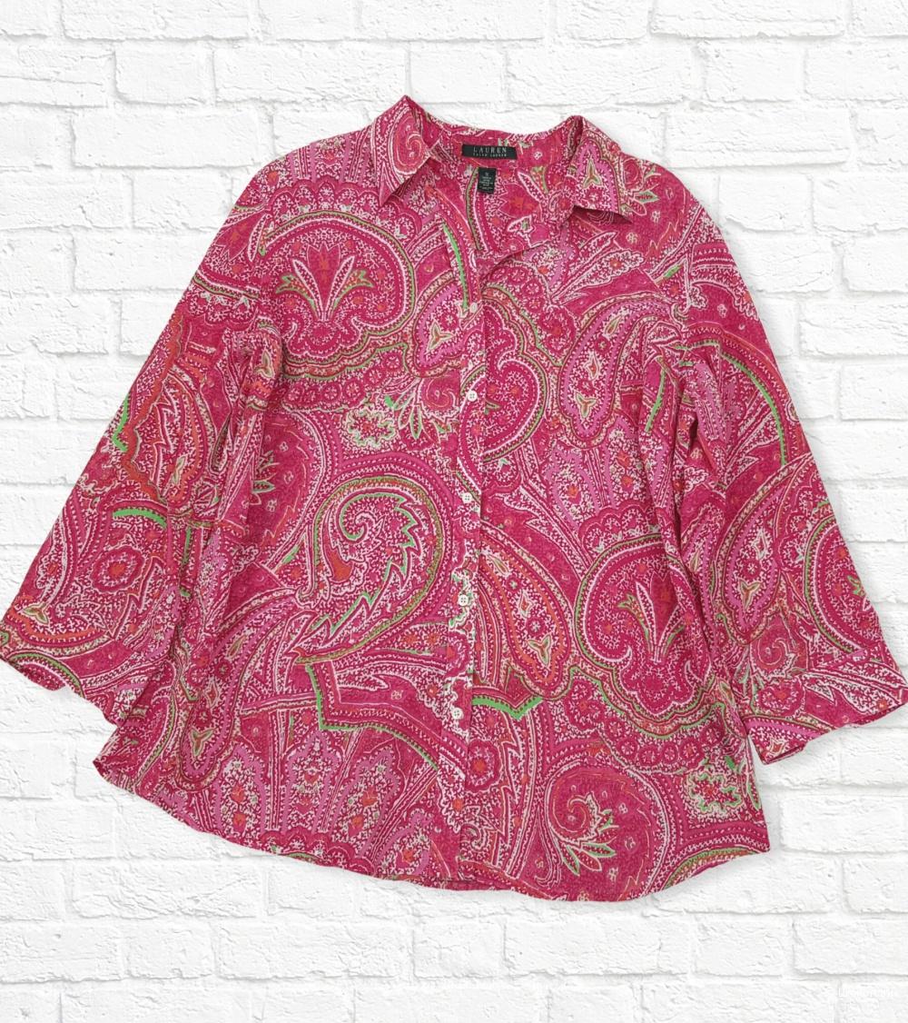 Блузон. Рубашка. Ralph Lauren. 50/52/52+