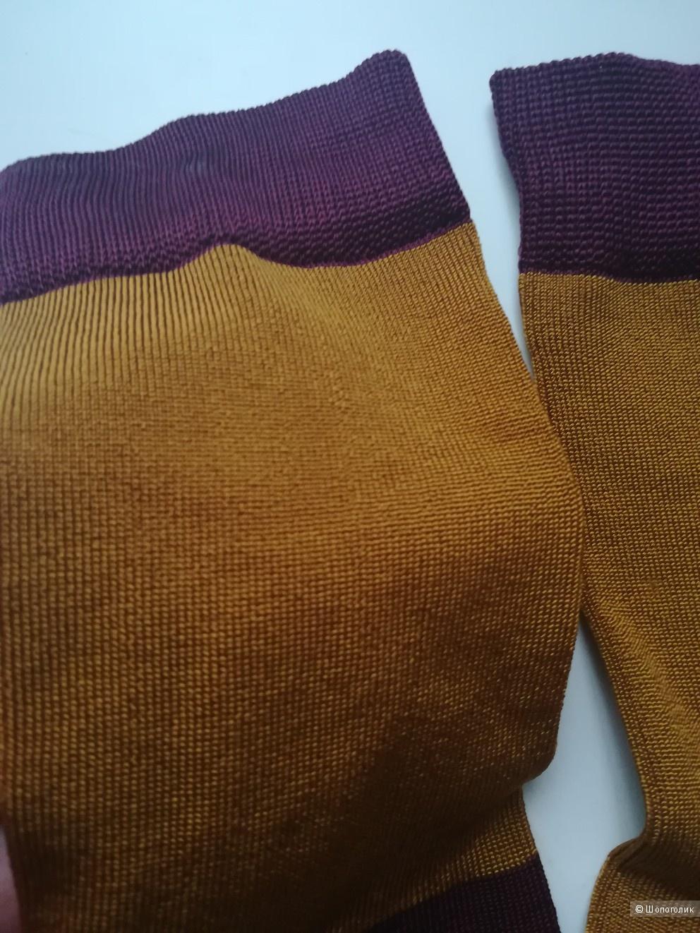 Шелковые носки Италия,размер 37/39