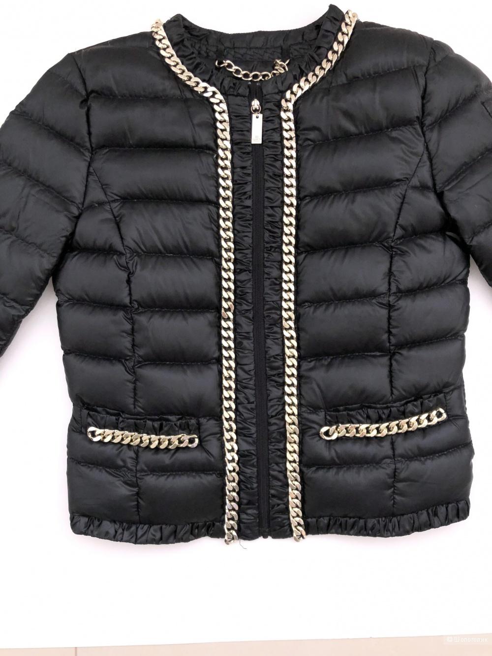Легкая пуховая куртка Elizabetta Franchi. Размер 40 it.