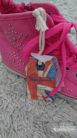 Кеды Pepe jeans london 38