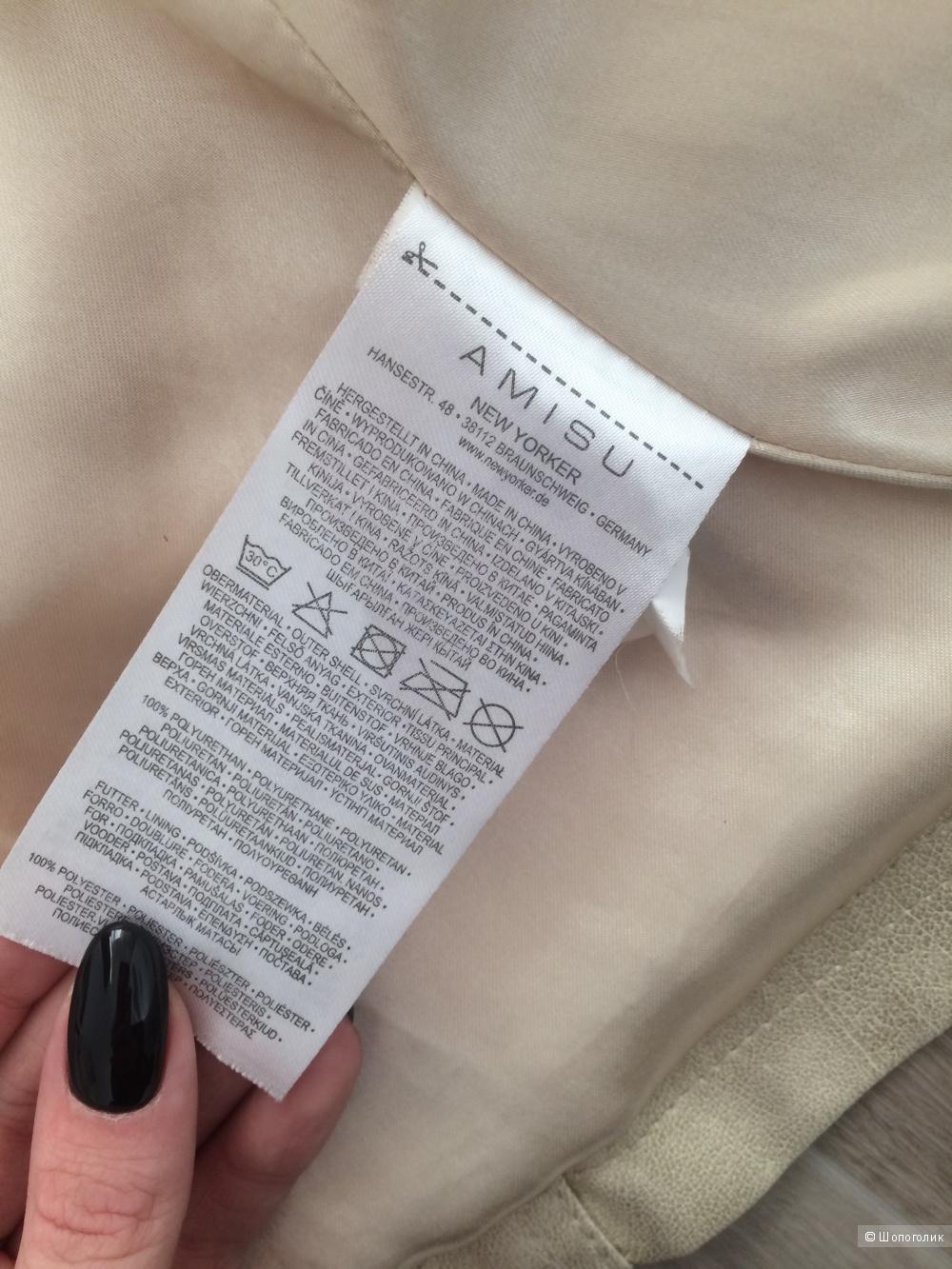 Куртка кожзам, New Yorker, M