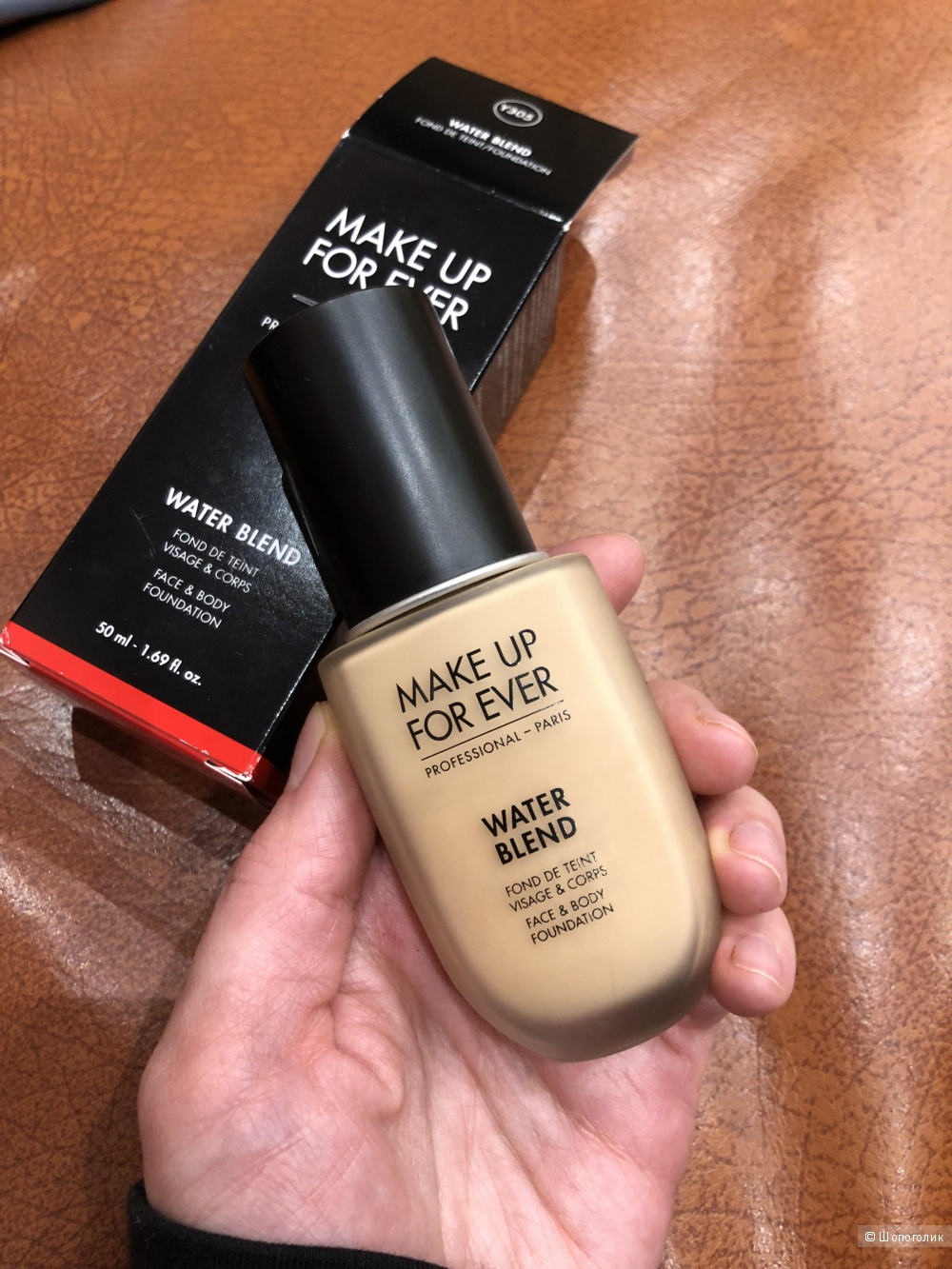 Make up for ever EVERWATER BLEND FOUNDATION Тональное средство для лица и тела