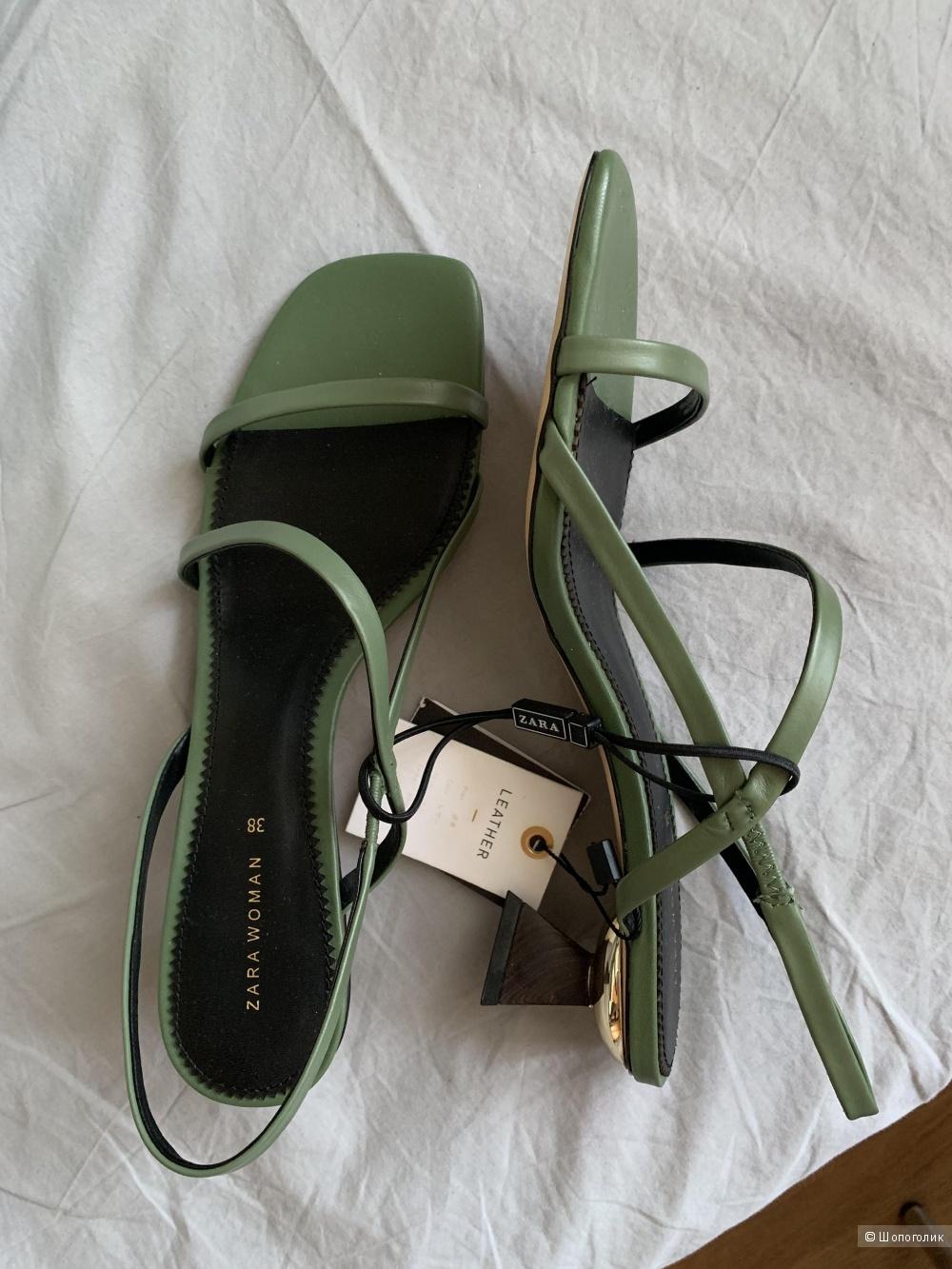 Босоножки Zara размер 38