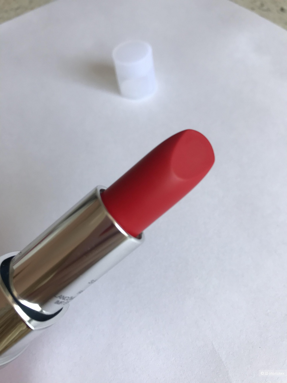 Помада Lancome Rouge in Love 170N.