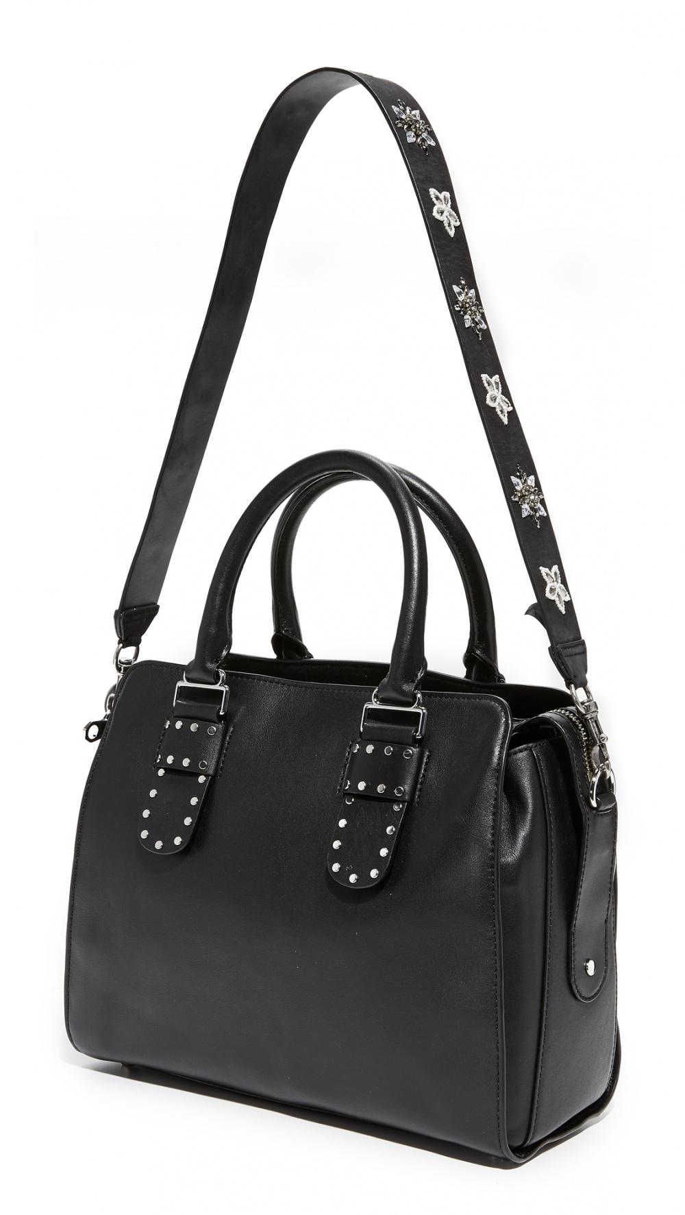Кожаный ремень для сумки Rebecca Minkoff