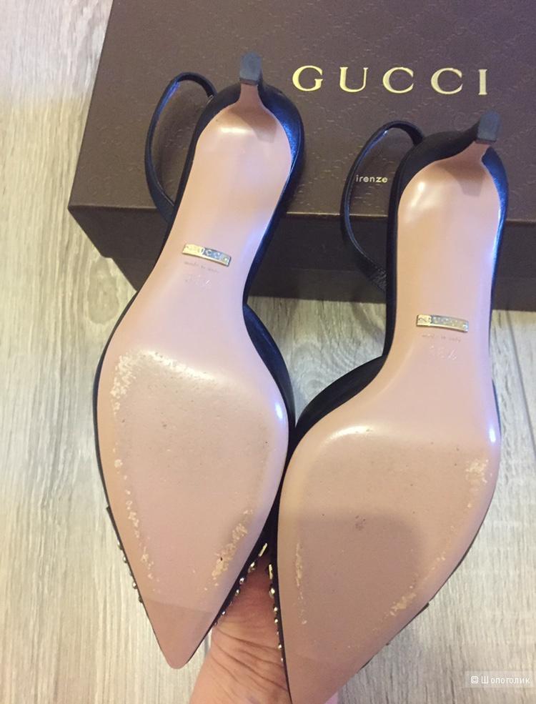 Босоножки Gucci, размер 38,5