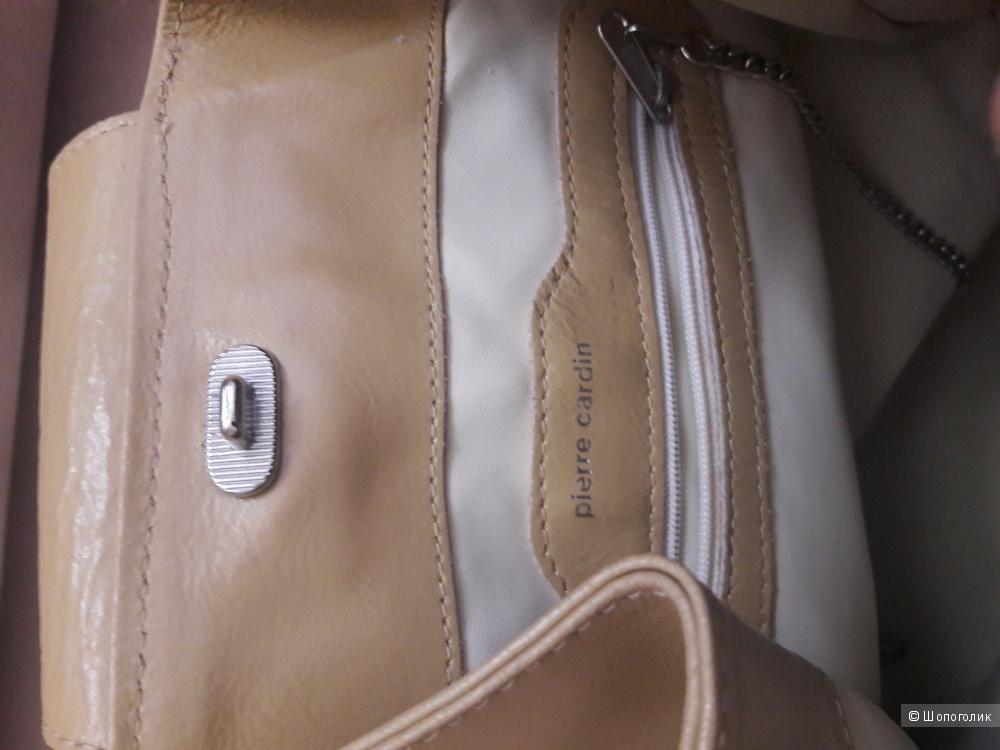 Кожаный рюкзак Pierre Cardin