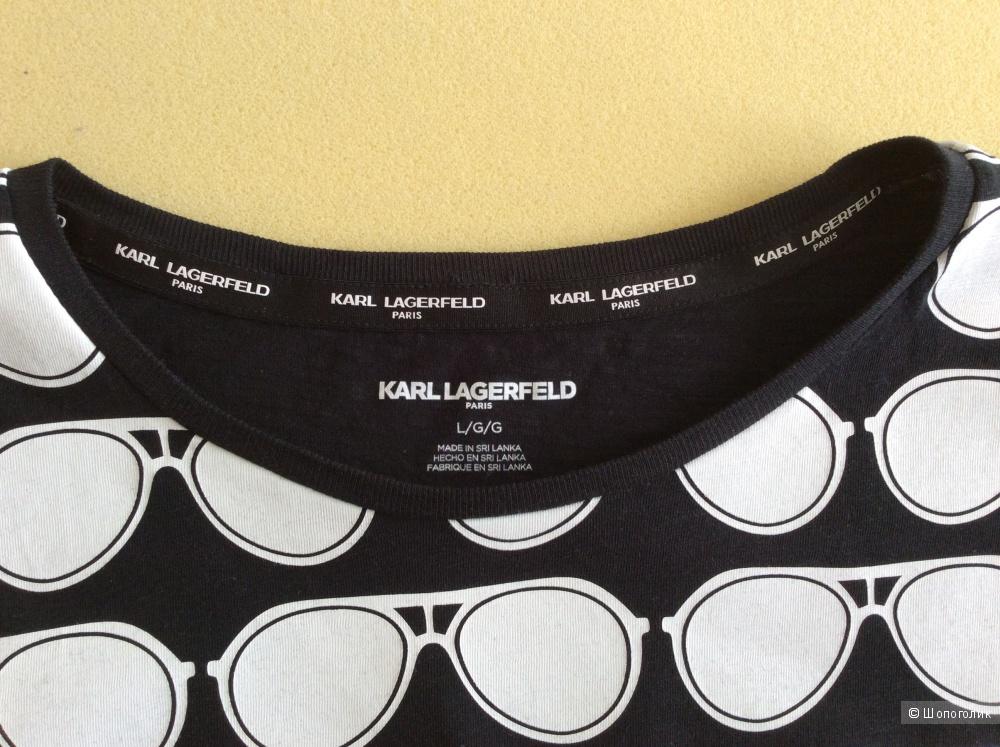 Футболка Karl Lagerfeld р.L (на 50-52).