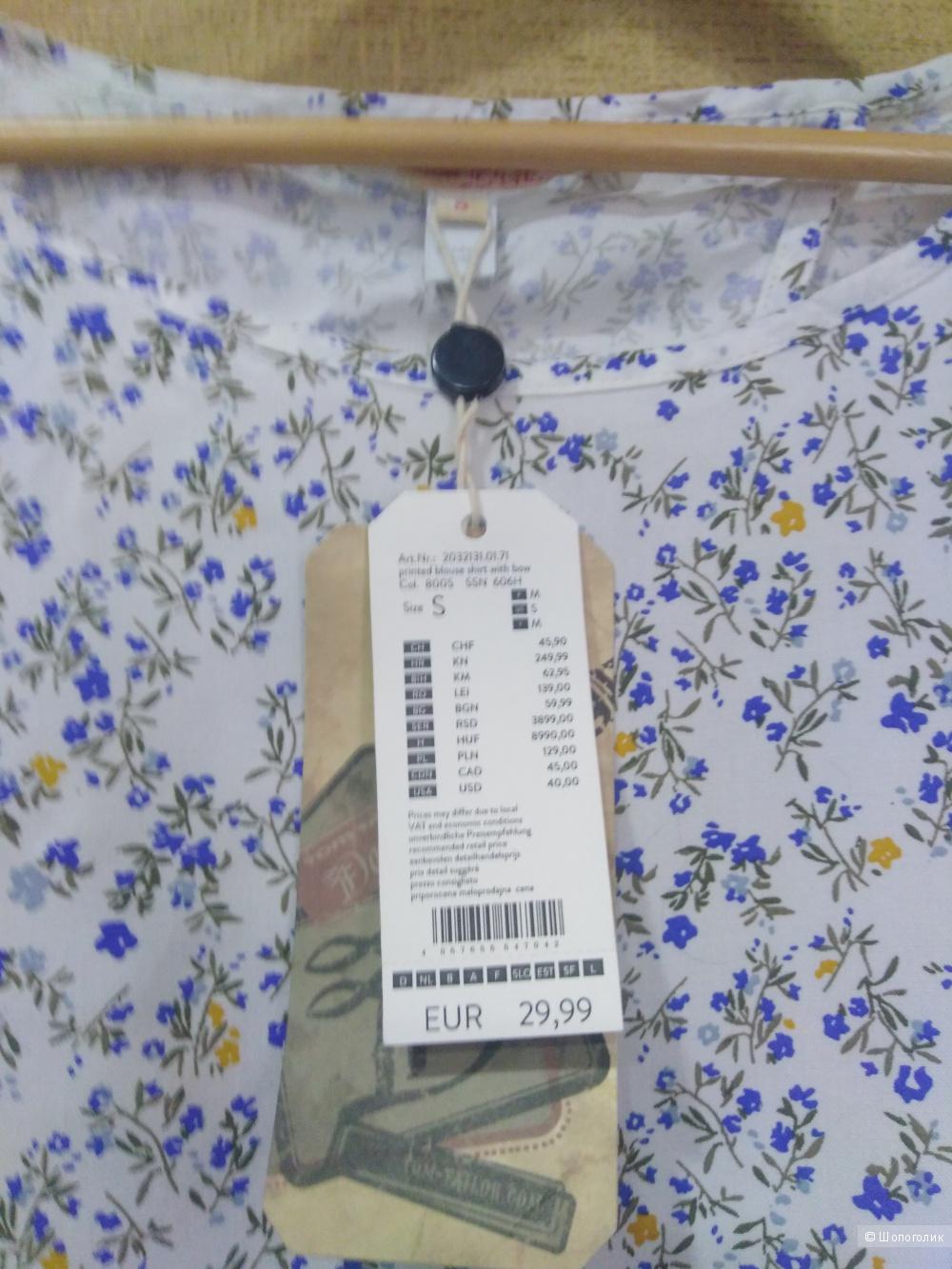 Блузка Tom Tailor размер S