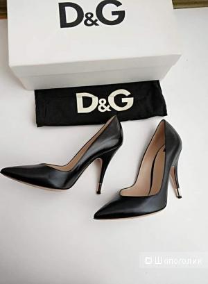 Лодочки D&G, на 38-38,5