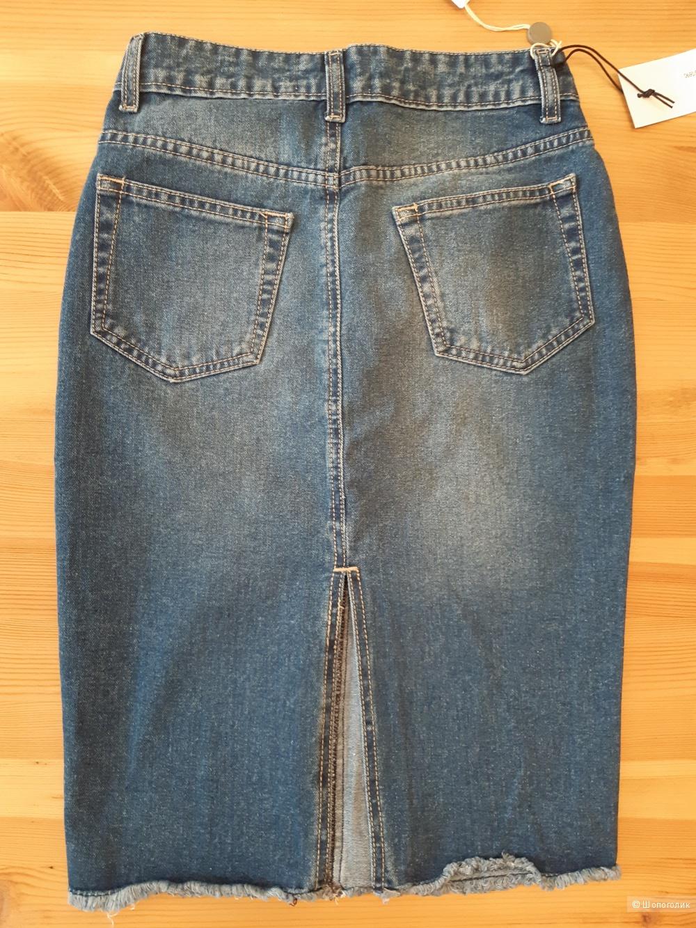 Юбка джинсовая GEORGE J.LOVE, размер XS
