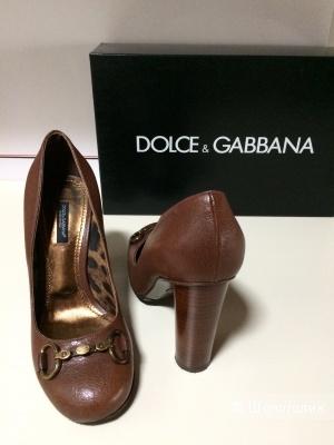 Туфли Dolce &Gabbana р.38 в подарок крем Eucerin