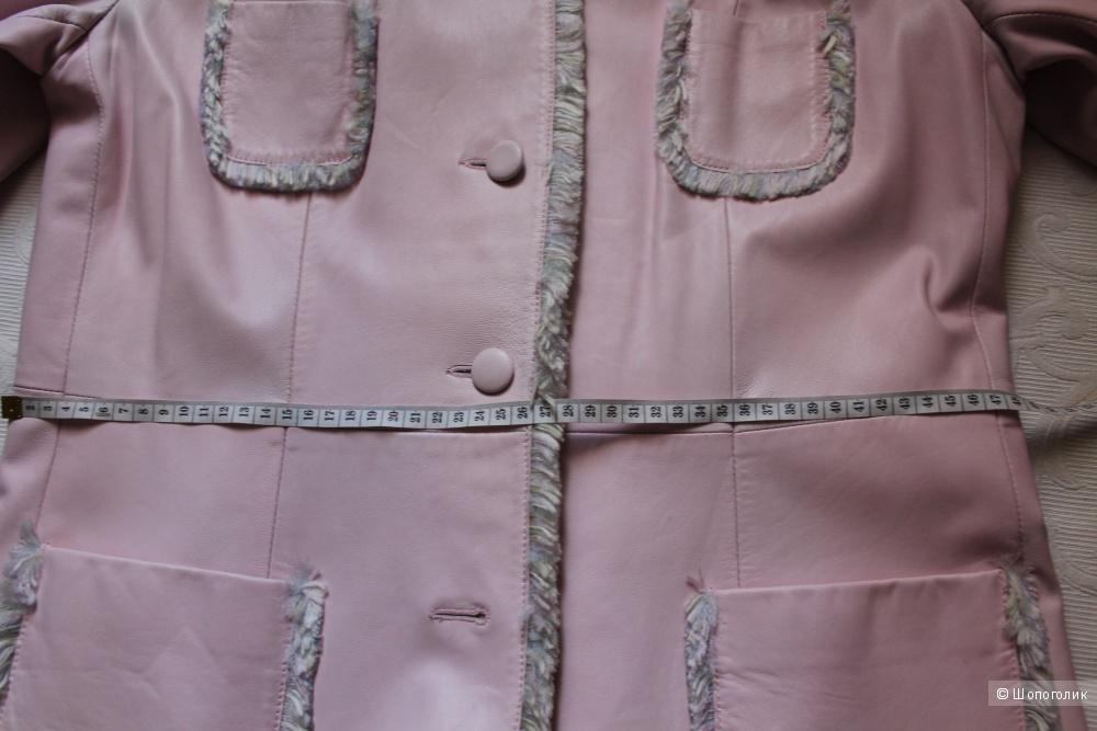 Кожаный плащ  BIBA, размер 46-48