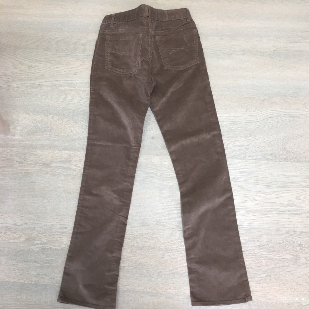 Вельветовые штаны gap 12 slim