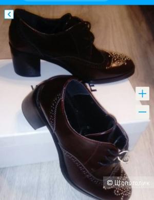 Ботинки на шнуровке Vivien Lee 38,5