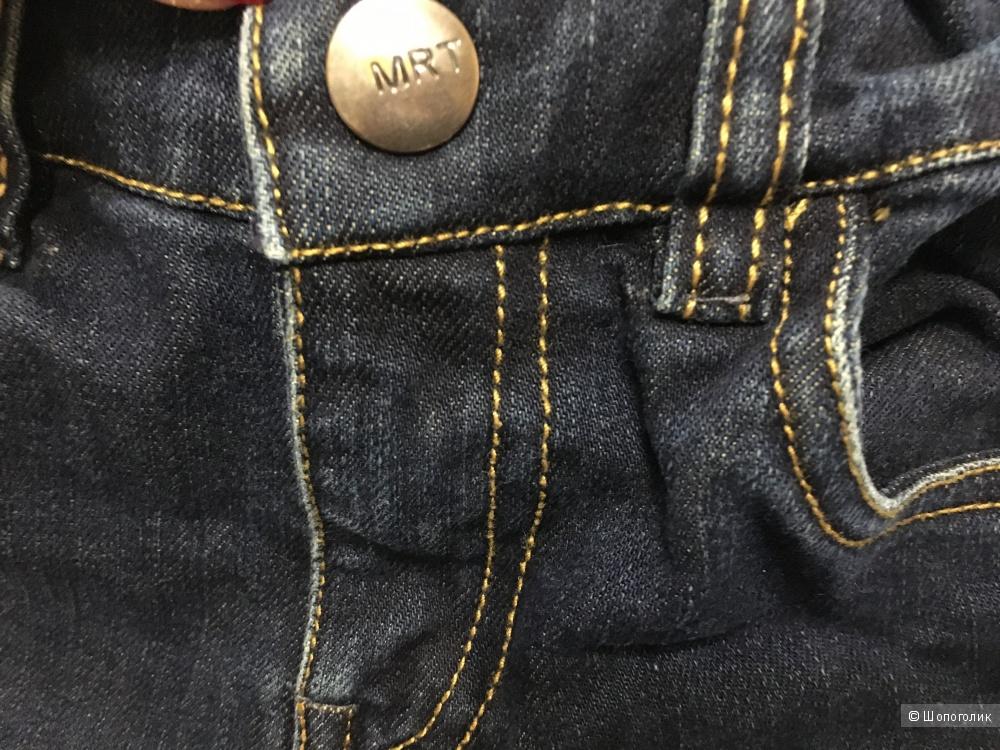 Детские джинсы MIRTILLO, размер 6. Большемерят