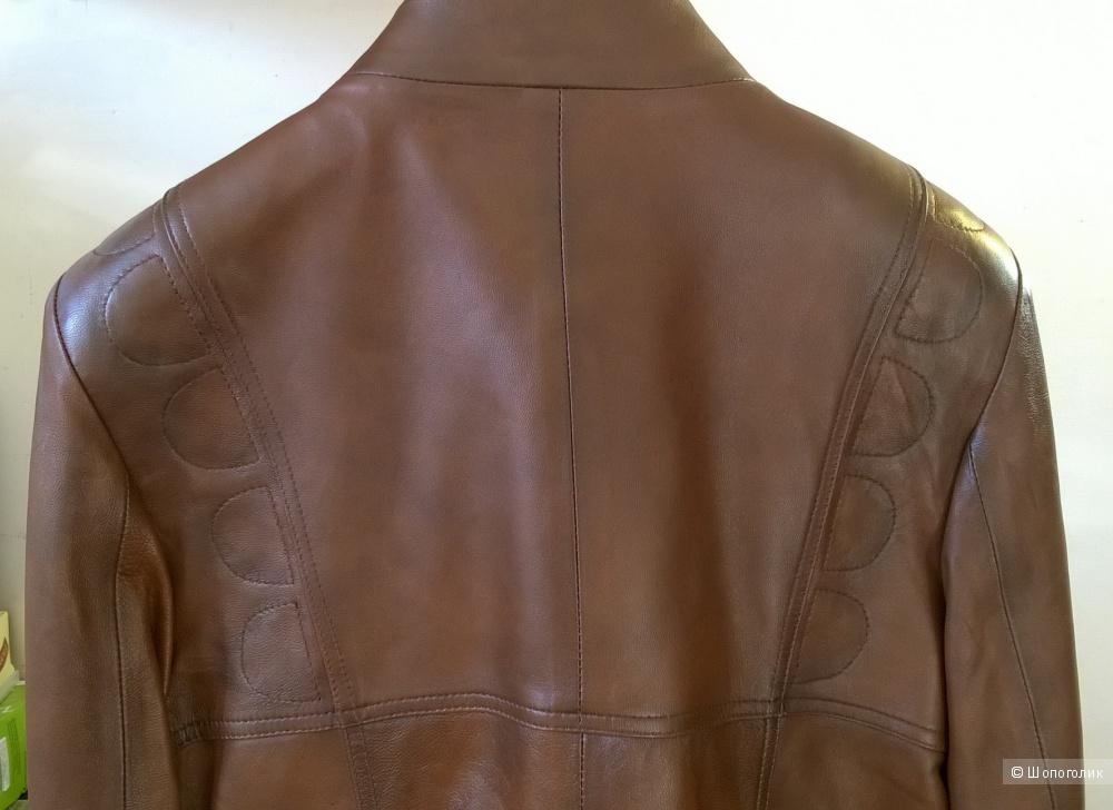 Кожаная куртка Giorgio di Mare 48-50 размер